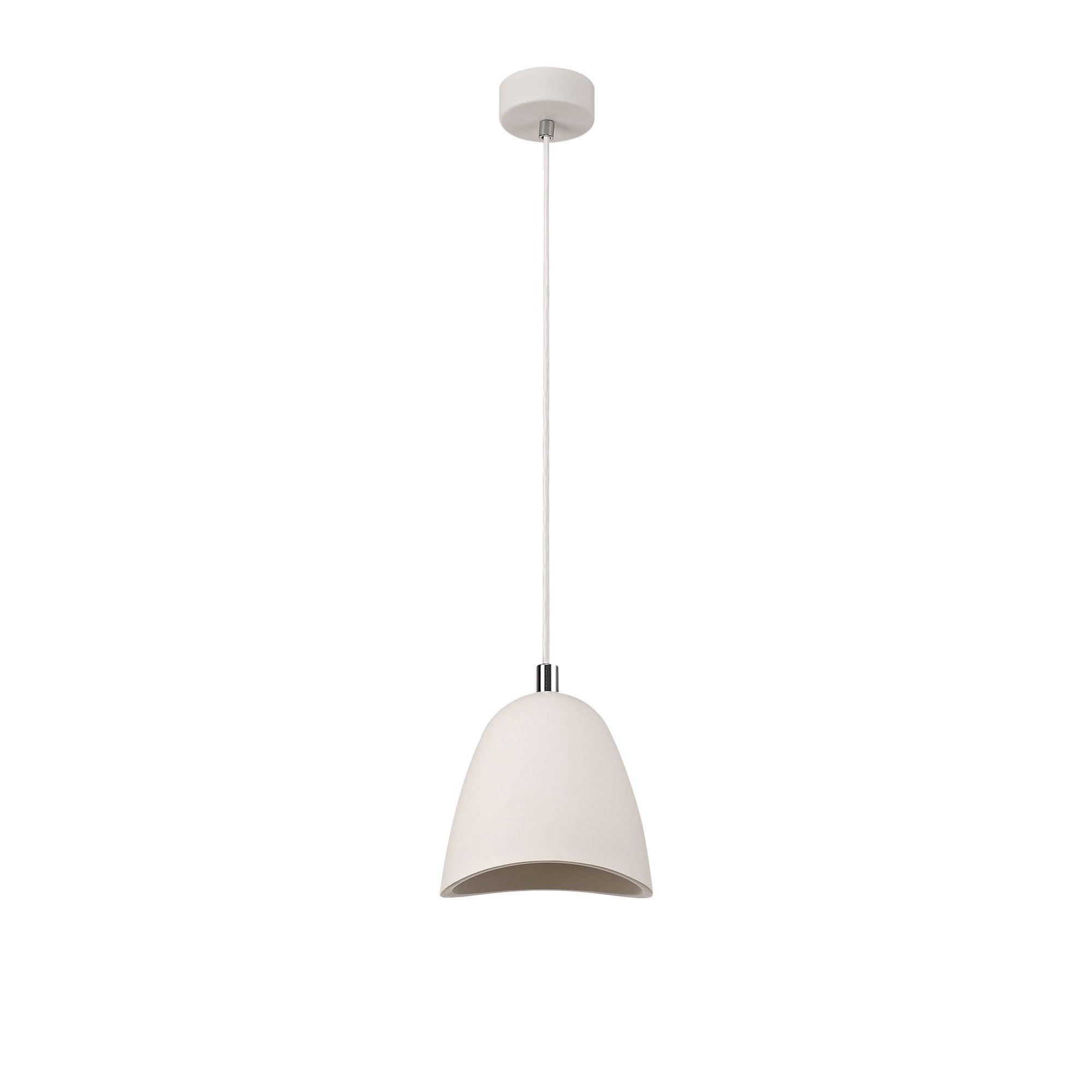 Modern White Pendant Lamp Paintable Ceiling Light Lighting Company Uk