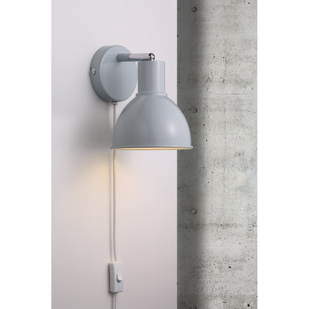 ikea wall plug sconces light hack in lights