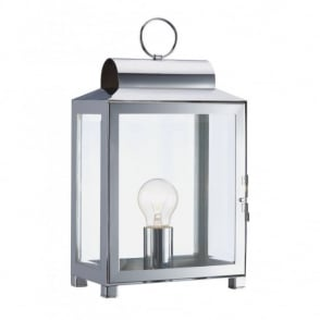 The Lighting Book BOX traditional metal table lamp (chrome)