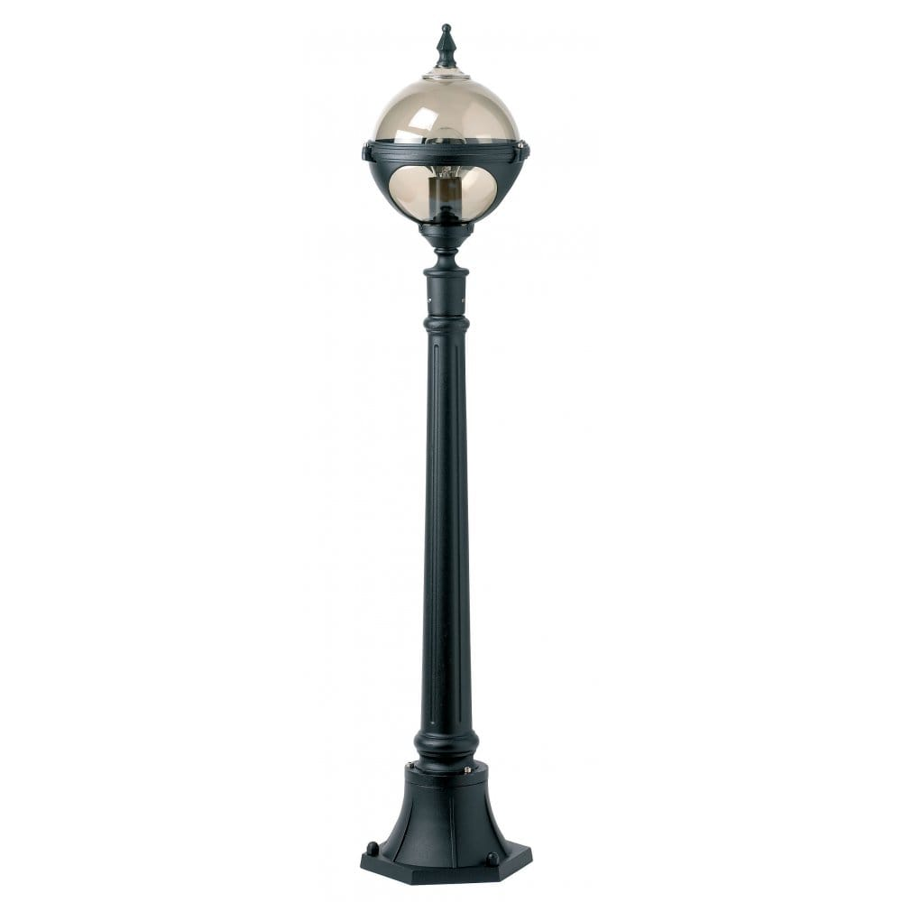 Garden Exterior Black Lamp Post Light