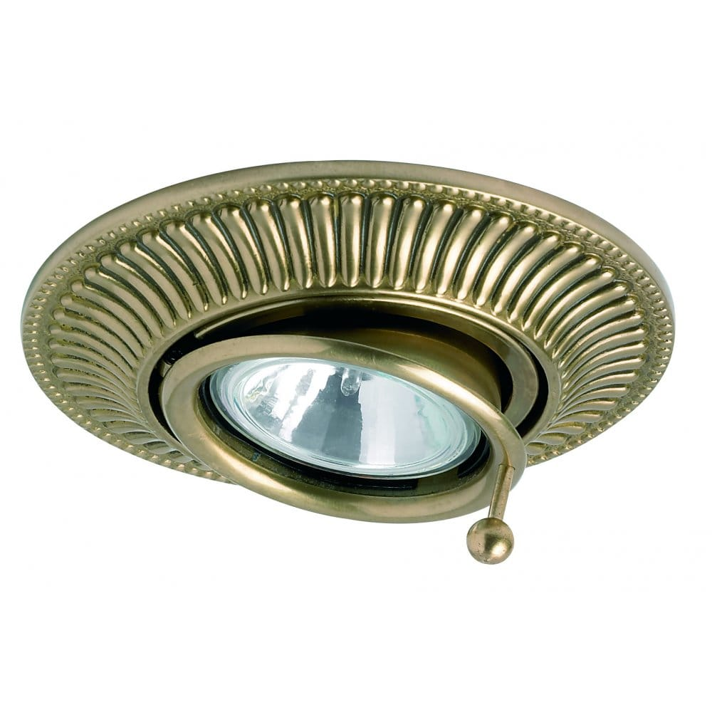 Traditional Low Voltage Halogen Recessed Ceiling Spotlight