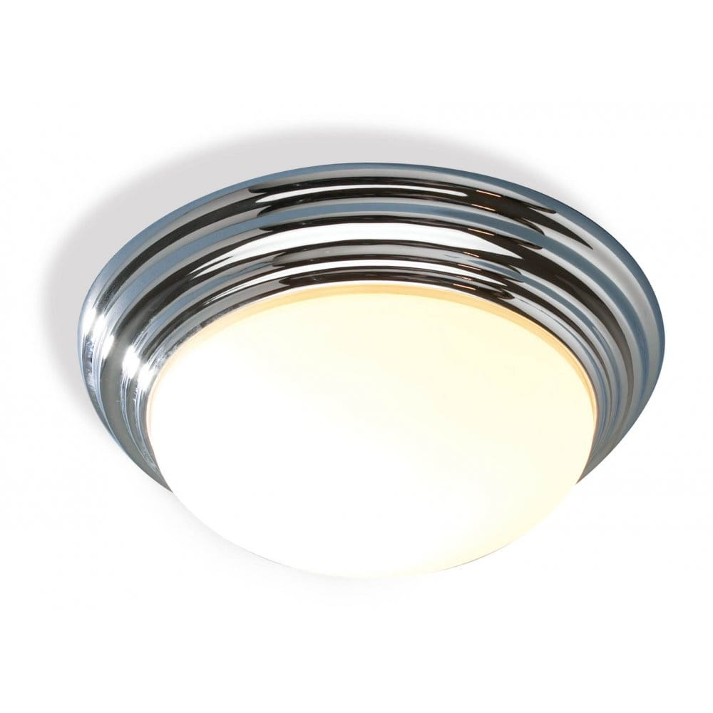 Large barclay traditional circular flush bathroom ceiling for Bathroom ceiling lights