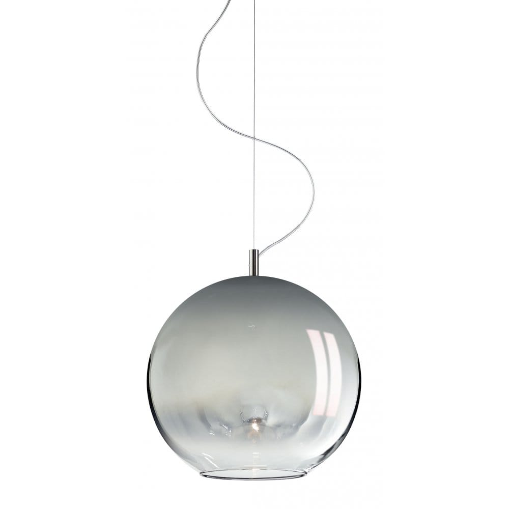 bio sphera italian mirrored glass ceiling pendant light