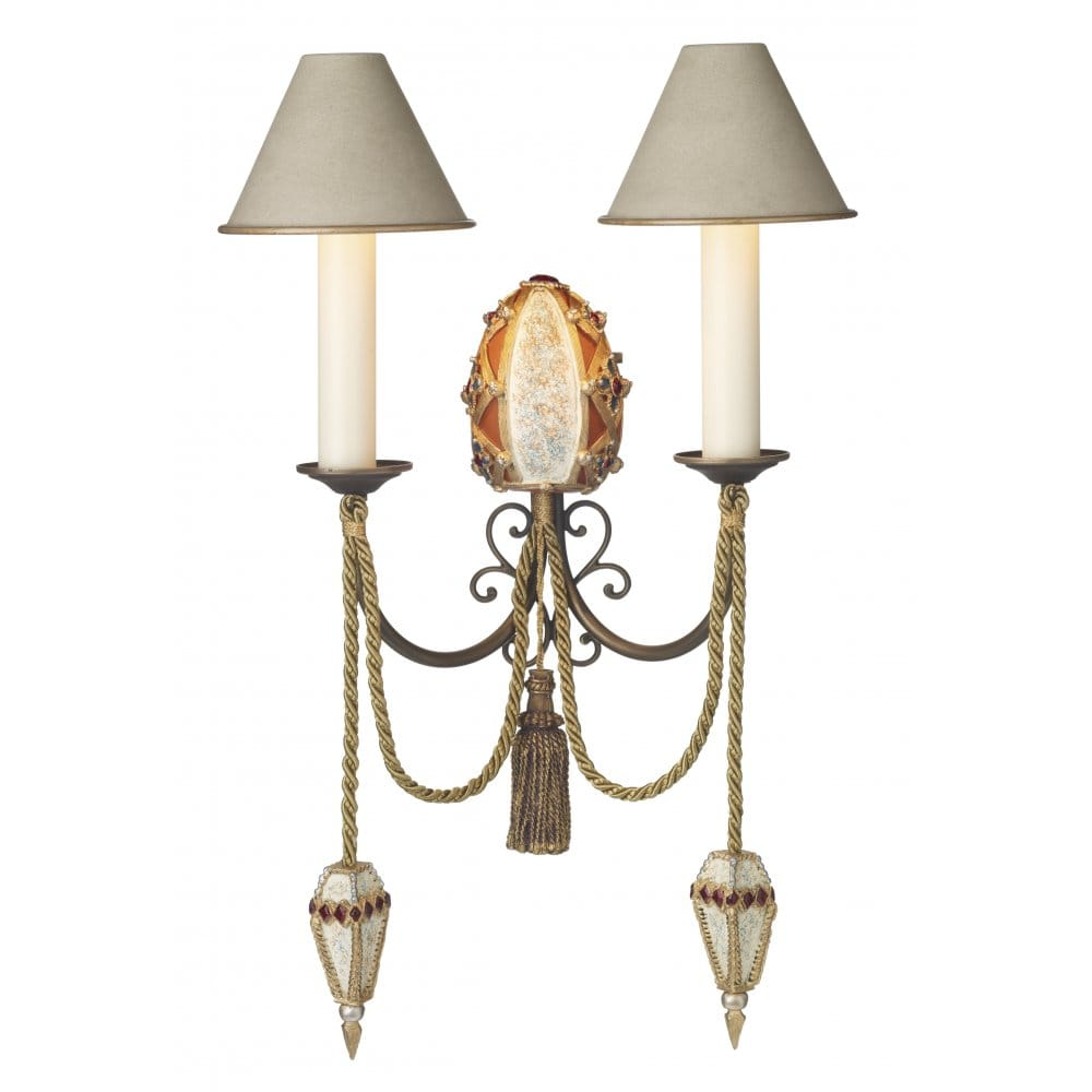 Traditional Garden Wall Lights : Anastasia Decorative Period Wall Light from David Hunt