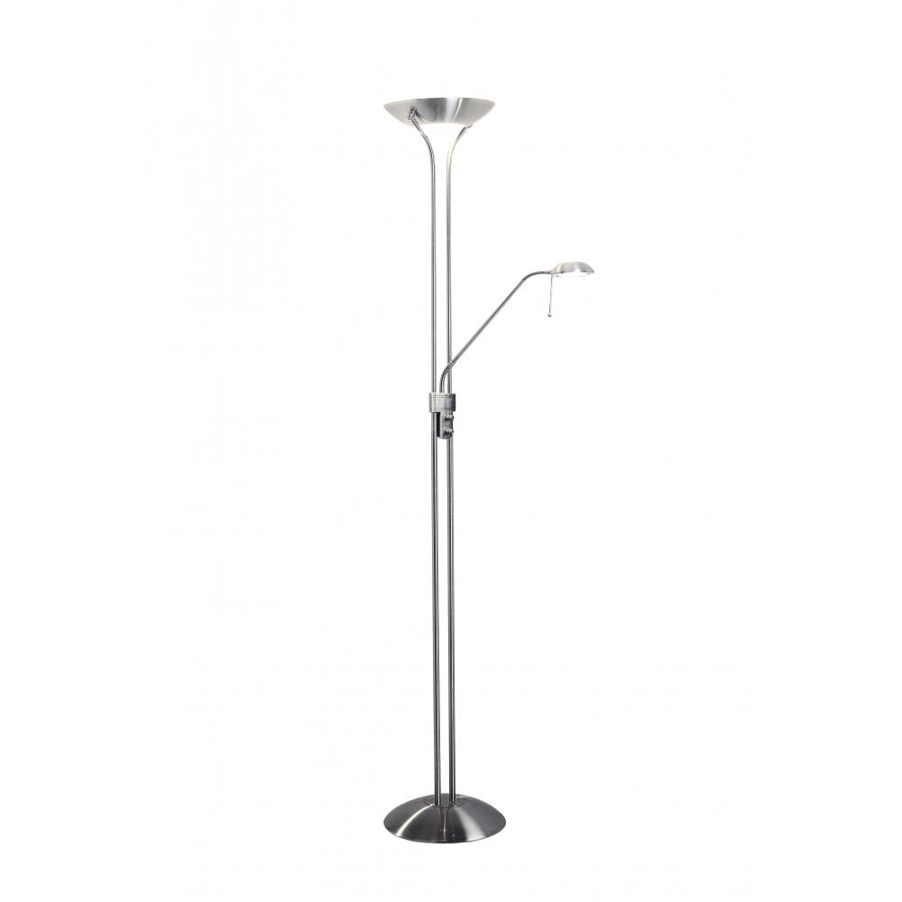 Montana uplighter floor lamp with adjustable reading arm for Montana uplighter floor lamp black chrome