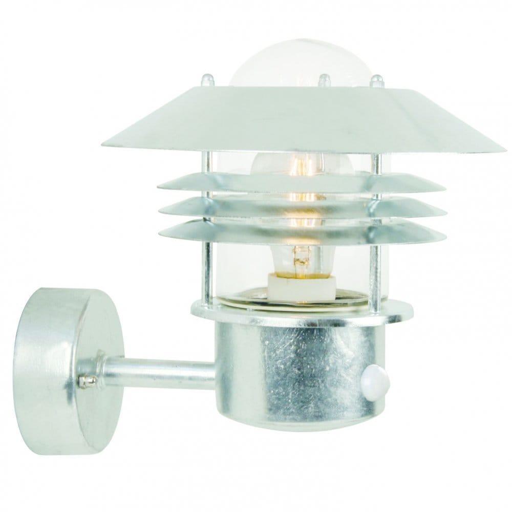 Garden Wall Light with in built Sensor PIR, Ideal as a Security Light