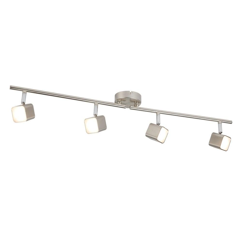 QUAD 9 light LED square head spotlight bar
