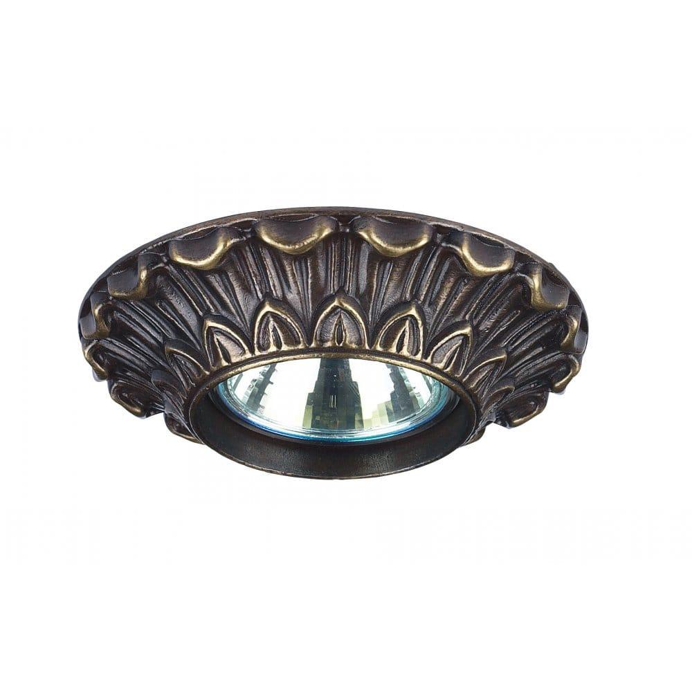 Celia Decorative Traditional Bronze Recessed Ceiling Spotlight