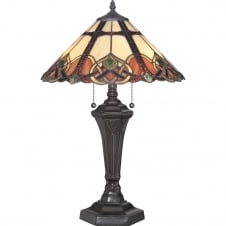 CAMBRIDGE Tiffany style table lamp