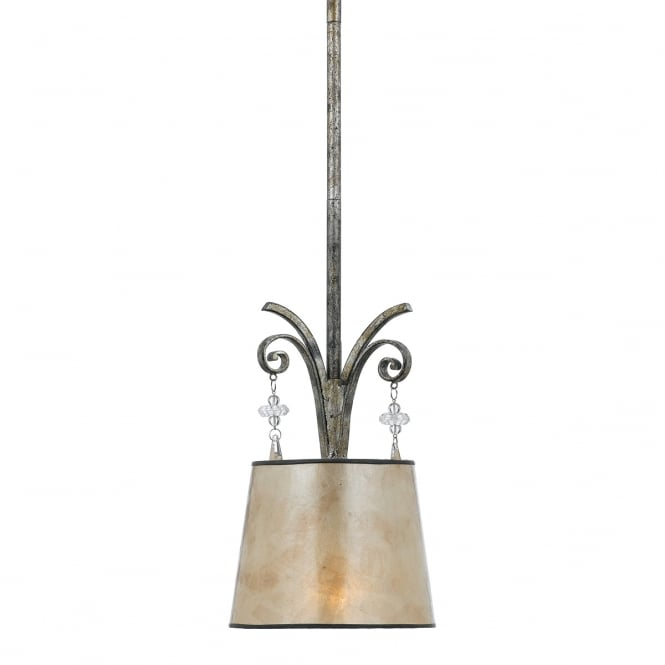 Quoizel KENDRA small hanging ceiling pendant light
