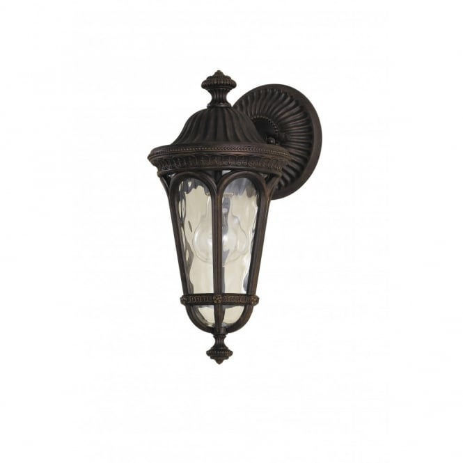 Traditional Dark Brown Regent Court Outdoor Wall Light 0e89c9b1b759