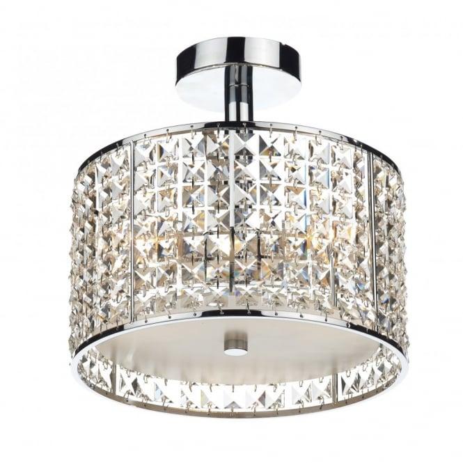 modern bathroom ceiling light chrome crystal design ip44 rated rh lightingcompany co uk Bathroom Ceiling Lighting Ideas DIY Bathroom Ideas Ceiling