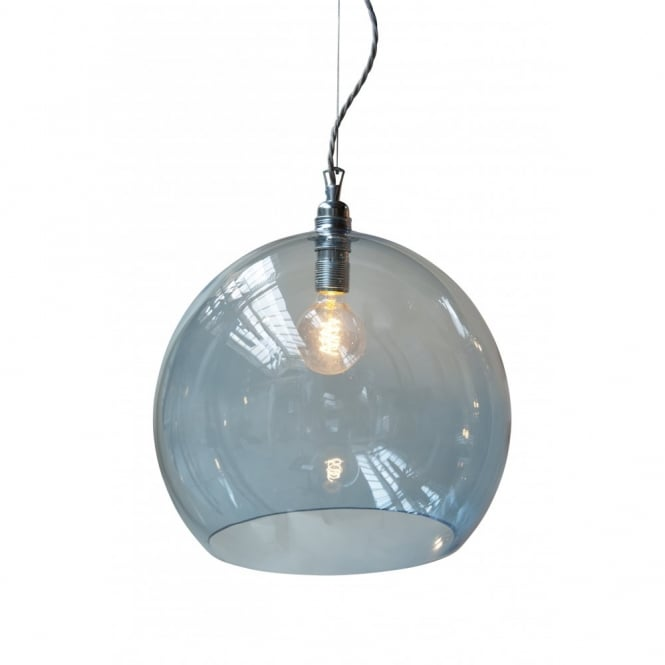pendant for innovation light home blue mini p glass