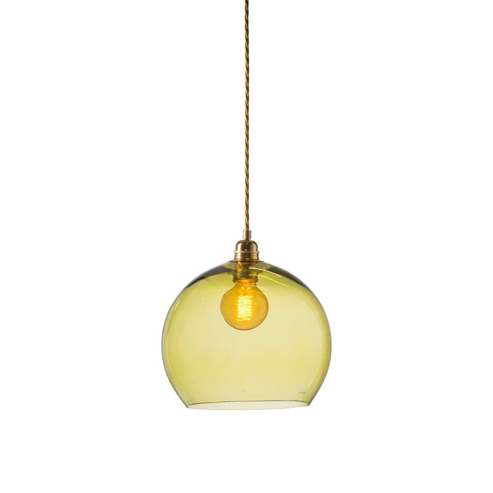 67dfc2e047b7 Rowan olive green glass ceiling light