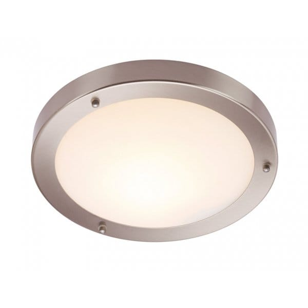 Bathroom Ceiling Lights Low Energy : Modern bathroom ceiling light with frosted glass shade