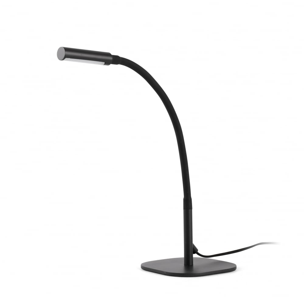 Modern flexible led desk lamp in black lighting company black flexible led desk lamp aloadofball Images