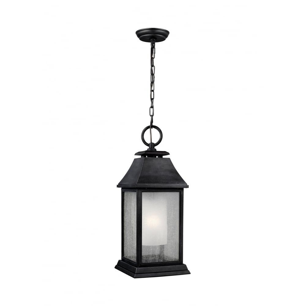 Traditional design exterior hanging lantern in weathered zinc finish traditional outdoor hanging lantern light aloadofball Images