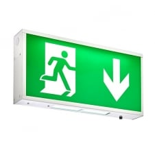emergency exit LED wall light