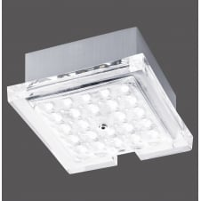FUTURA sleek flush fit LED squared ceiling light