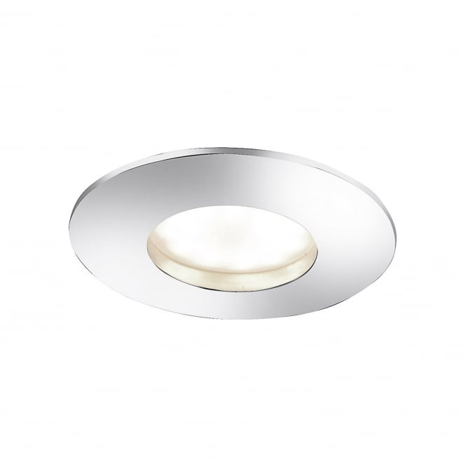 Smart Light LUMECO recessed LED spotlight in polished chrome