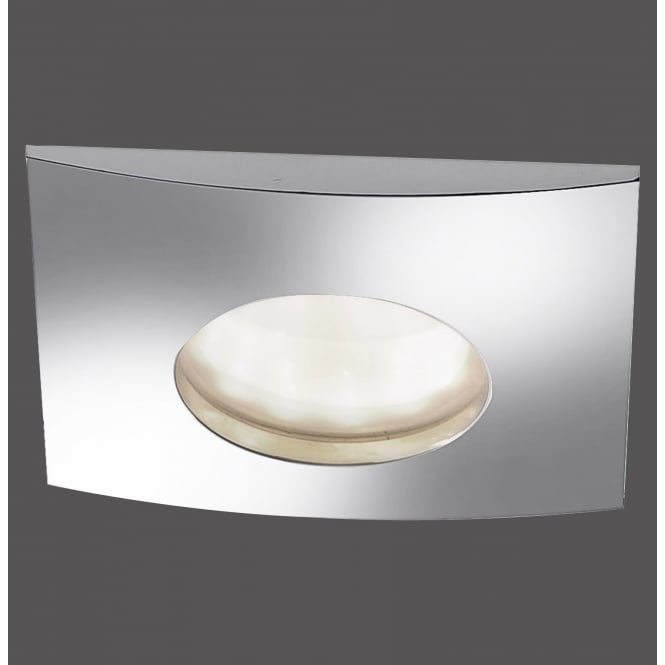 Smart Light LUMECO squared recessed LED bathroom spotlight in chrome finish