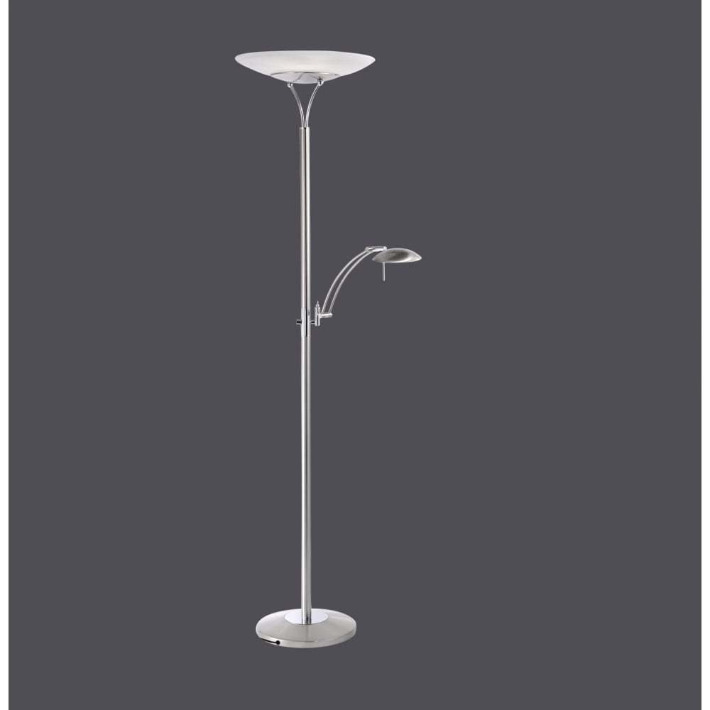 Contemporary led mother and child uplighter floor lamp in for Pixo led floor lamp