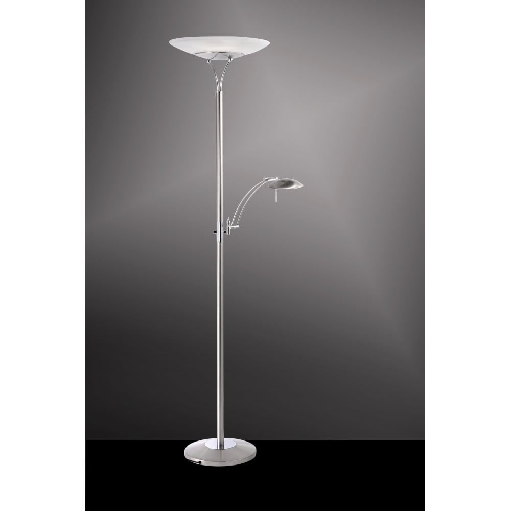 Modern led floor lamp affordable lumisource novelty for Cheap uplighter floor lamp