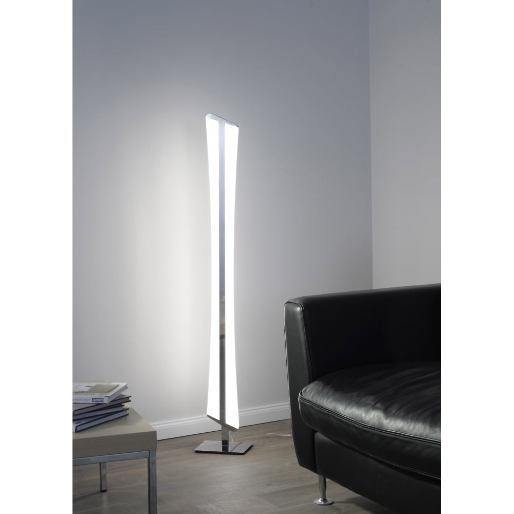 modern RGBW LED colour change floor lamp