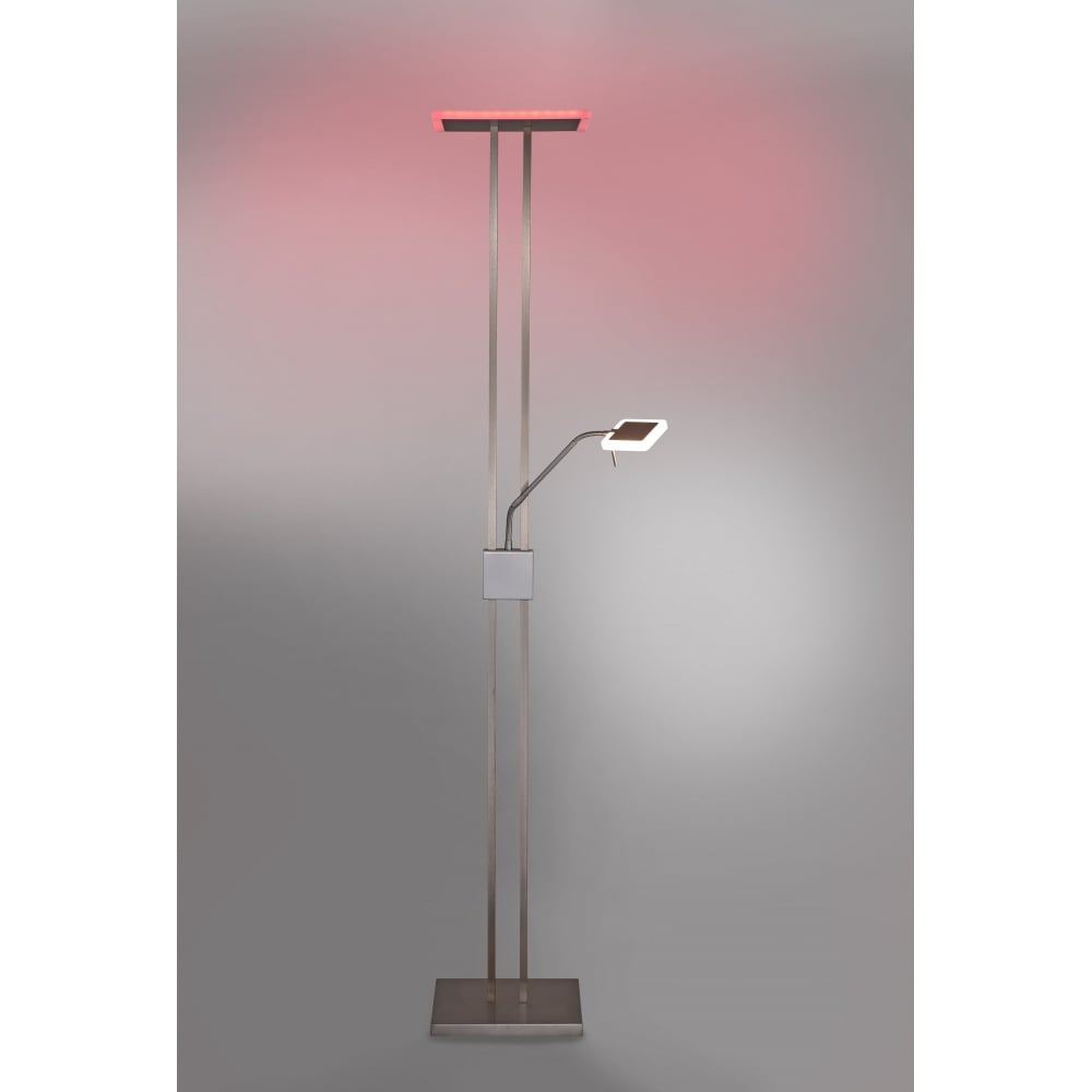 Rbg colour change led floor lamp with remote rgb led colour changing floor lamp with remote mozeypictures Gallery