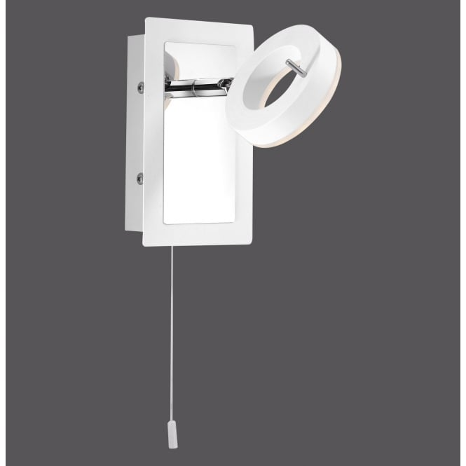SILEDA modern LED wall light in white