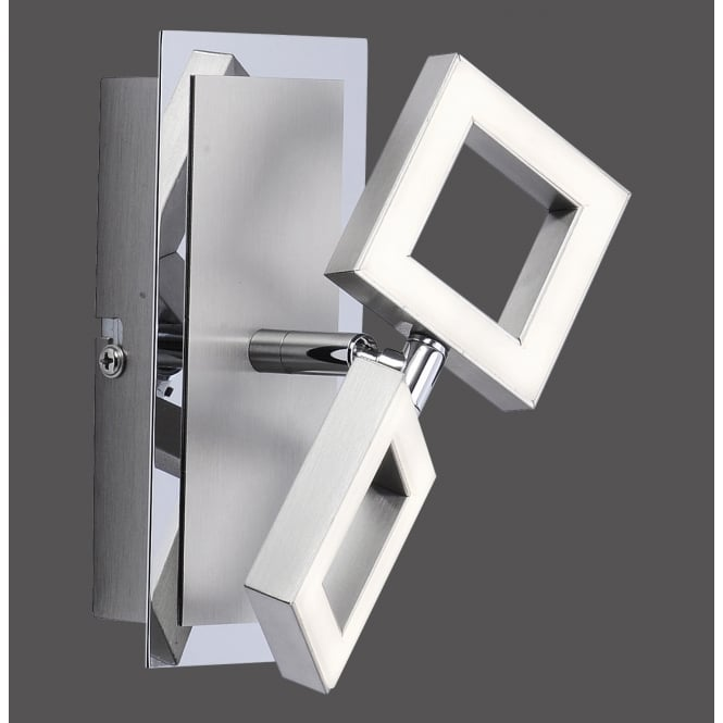 Smart Light TWINS modern twin LED squares wall light