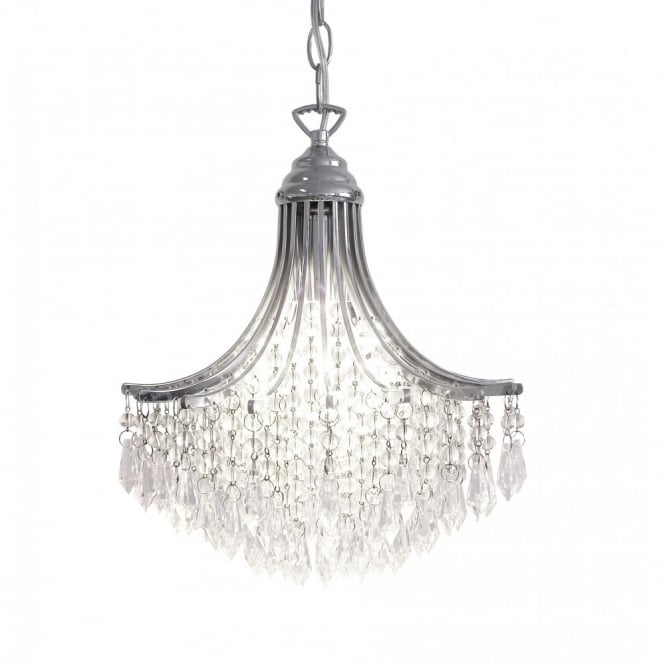 Suri double insulated chrome crystal chandelier suri double insulated small crystal chandelier aloadofball