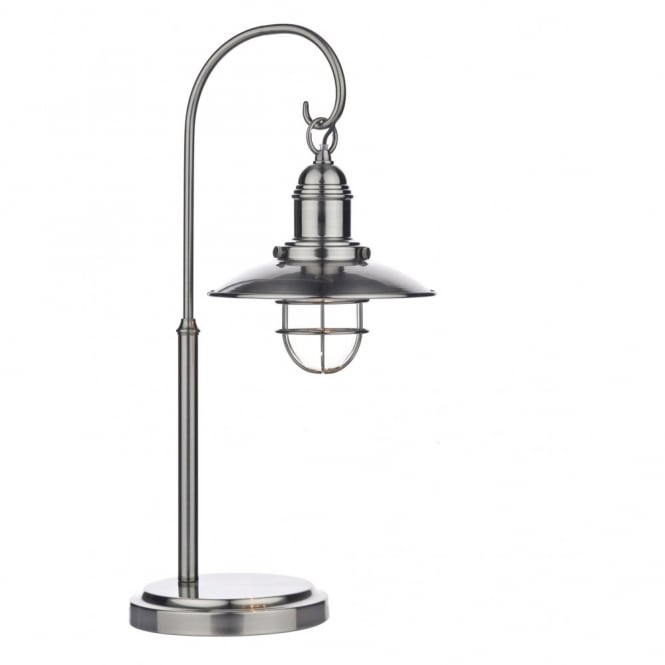 Y TERRACE Traditional Retro Style Table Lamp In Antique Chrome