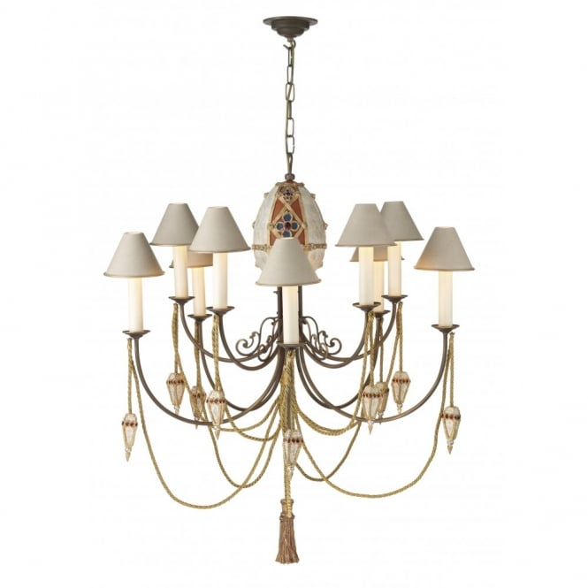 The David Hunt Lighting Collection ANASTASIA large light for high ceilings