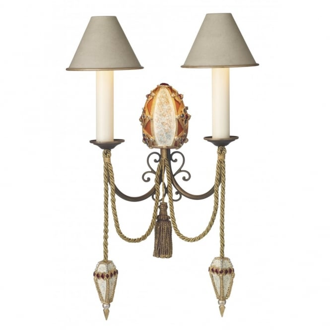 The David Hunt Lighting Collection ANASTASIA traditional decorative wall light