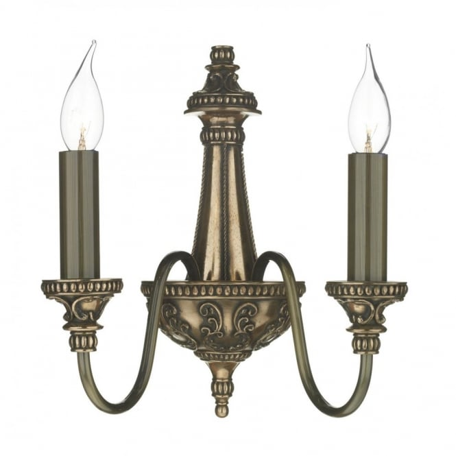 The David Hunt Lighting Collection BAILEY traditional bronze wall light