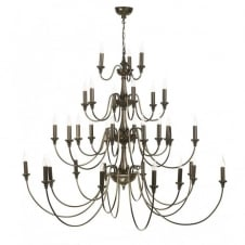 BAILEY very large 4 tier Georgian or Regency chandelier