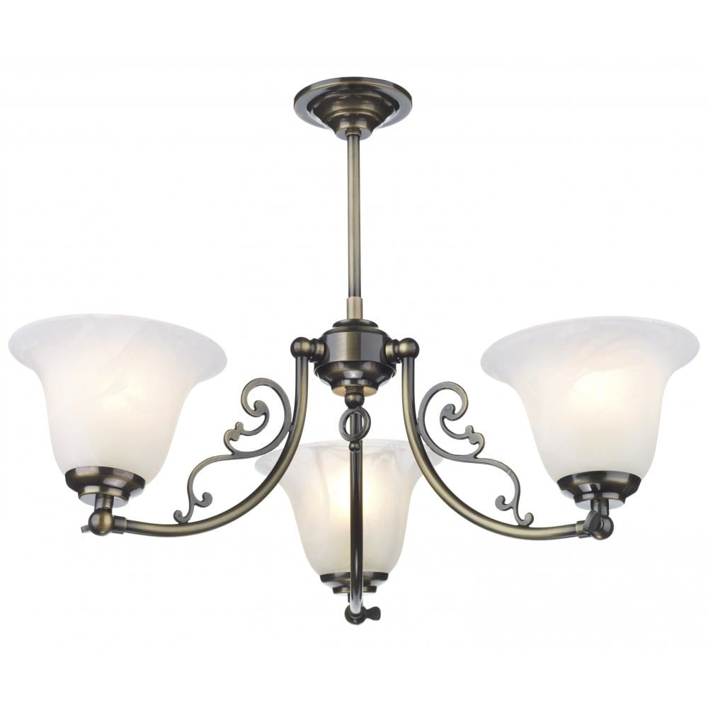 Brass Chandelier Ceiling Lights : Campden antique brass low ceiling light designed by david hunt