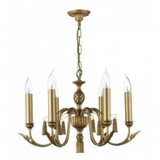 CLASSIC antique gold ceiling light