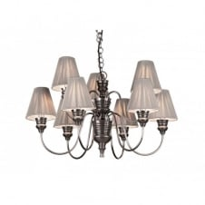 DOREEN antique pewter ceiling light
