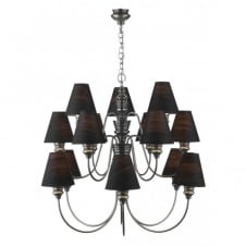DOREEN large pewter ceiling light