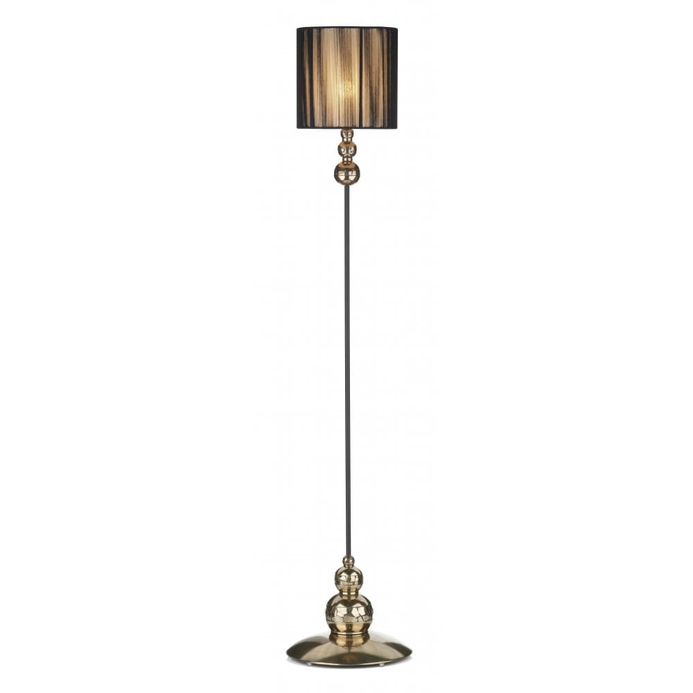 the david hunt lighting collection garbo bronze floor standing lamp. Black Bedroom Furniture Sets. Home Design Ideas