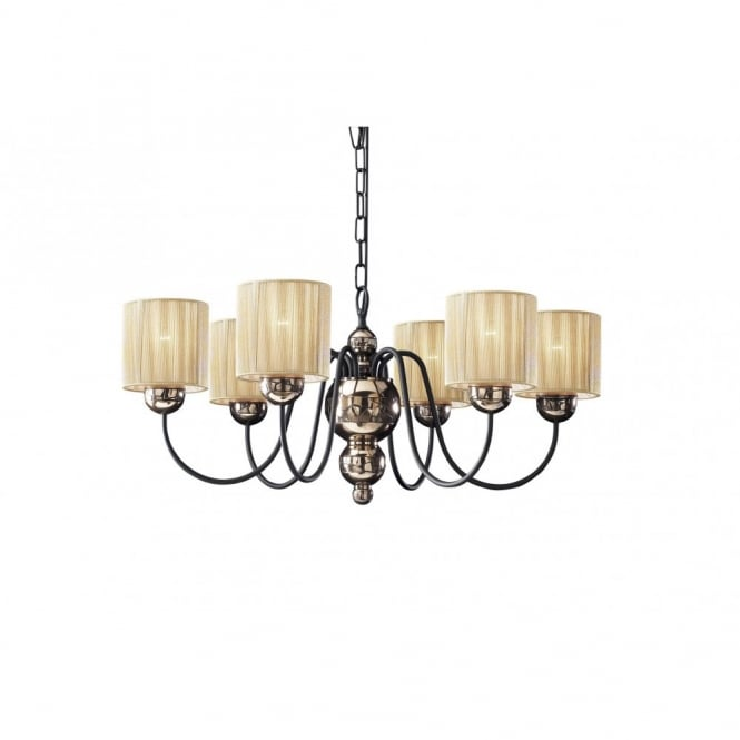 The David Hunt Lighting Collection GARBO bronze light for high ceilings