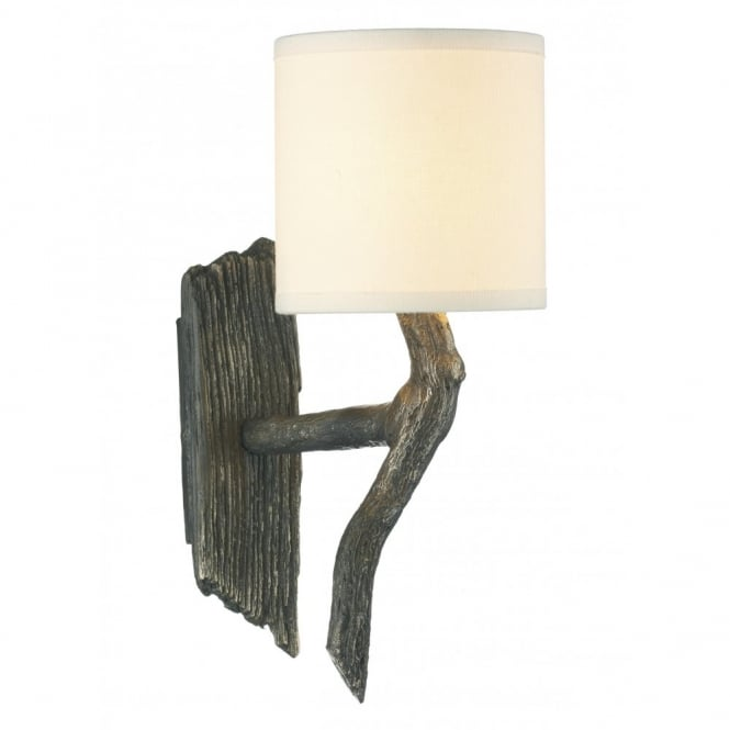 The David Hunt Lighting Collection JOSHUA bronze rustic wall light