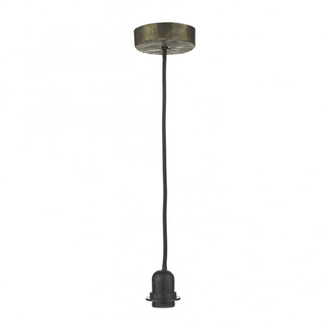 The David Hunt Lighting Collection JOSHUA rustic bronze pendant suspension