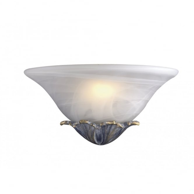 The David Hunt Lighting Collection NEPTUNE double insulated glass wall light