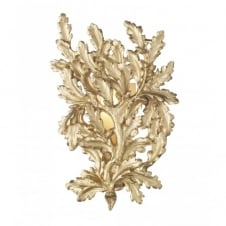 OAK decorative gold leaf wall light