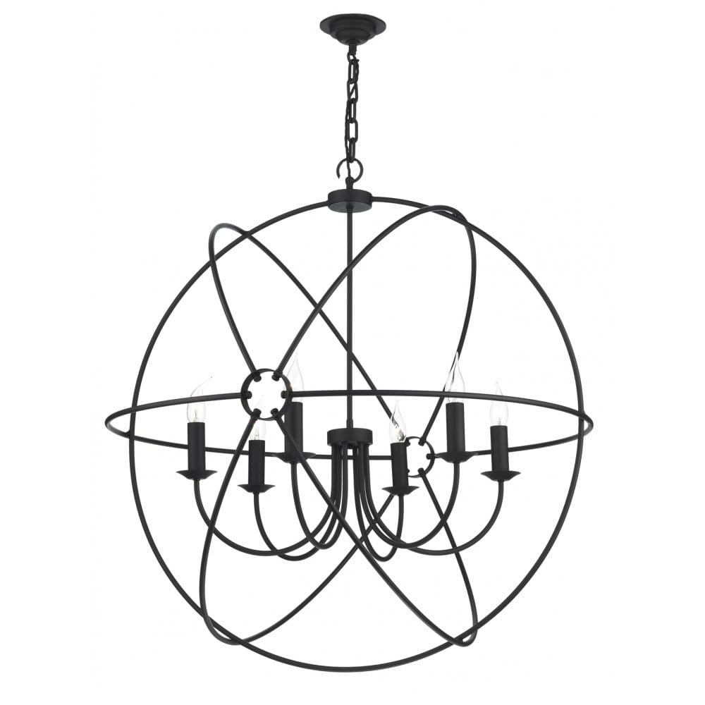 large orb gyroscope black ceiling pendant light for high ceilings