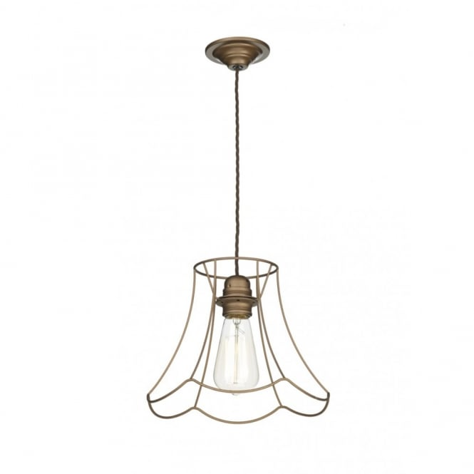 The David Hunt Lighting Collection OREGON decorative large rustic ceiling pendant in bronze