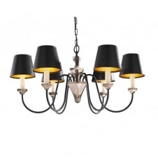 OTHELLO black bronze ceiling light